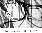 Small photo of Random abstract spray painting graffiti wall background. Random stroke line with spray. Rustic and grunge texture urban. Agitate, disturb and annoy. Black and white colors. Close up.