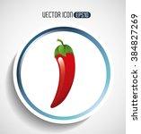 healthy food design  | Shutterstock .eps vector #384827269