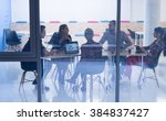 startup business team on... | Shutterstock . vector #384837427