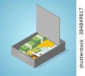 Safe Deposit Box Full Of Money  ...