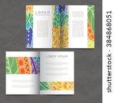 set of vector design templates. ... | Shutterstock .eps vector #384868051