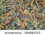 crystals of metamizole under... | Shutterstock . vector #384880525