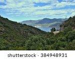 corsica gulf of porto | Shutterstock . vector #384948931