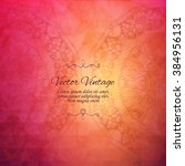elegant indian ornamentation on ...   Shutterstock .eps vector #384956131