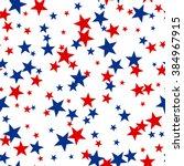 patriotic american vector... | Shutterstock .eps vector #384967915