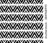 geometric seamless pattern with ... | Shutterstock .eps vector #384968995
