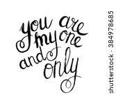 conceptual handwritten phrase... | Shutterstock . vector #384978685