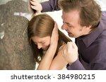 domestic violence | Shutterstock . vector #384980215