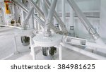 electrical mill machinery for... | Shutterstock . vector #384981625