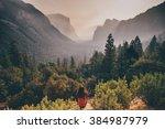 yosemite valley | Shutterstock . vector #384987979