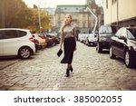 street fashion concept  full... | Shutterstock . vector #385002055