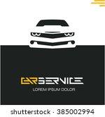car service poster design... | Shutterstock .eps vector #385002994
