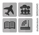 internet of things design  | Shutterstock .eps vector #385024945