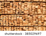 wood for construction | Shutterstock . vector #385029697