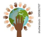 diversity concept design  | Shutterstock .eps vector #385082707