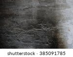 Old Plaster Wall With Soot...