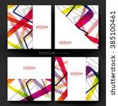 abstract background vector... | Shutterstock .eps vector #385100461