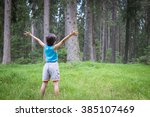 kids welcome to the forest | Shutterstock . vector #385107469
