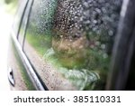 happy kids travel by the car | Shutterstock . vector #385110331