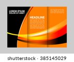 professional business three... | Shutterstock .eps vector #385145029