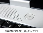 close up of the power on and... | Shutterstock . vector #38517694