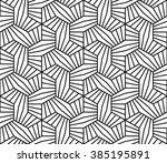 vector modern seamless geometry ... | Shutterstock .eps vector #385195891
