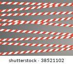 Warning Ribbon  Vector