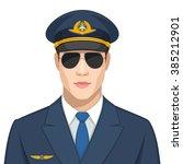 profession  pilot | Shutterstock .eps vector #385212901