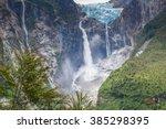 Hanging Glacier Of Queulat...