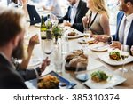 business celebrate cheerful... | Shutterstock . vector #385310374