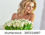 Beautiful Young Blond Woman...