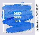 deep deep sea. square acrylic...   Shutterstock .eps vector #385357339