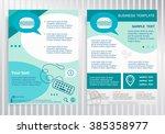 hamburger icon on vector... | Shutterstock .eps vector #385358977
