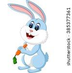 Illustration Of Cute Rabbit...