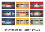 Video Cassette Tape Vector...