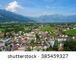 vaduz  liechtenstein july 9.... | Shutterstock . vector #385459327
