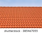 Small photo of Tile roofs, patterns of blue sky
