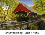 Covered Bridge In Franconia  N...