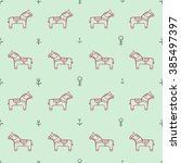 background seamless pattern... | Shutterstock .eps vector #385497397