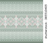 decorative seamless border on... | Shutterstock .eps vector #385510405