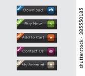 elegant web buttons set  easy... | Shutterstock .eps vector #385550185