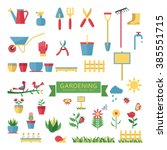 vector illustration elements of ... | Shutterstock .eps vector #385551715