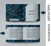 brochure template with abstract ... | Shutterstock .eps vector #385567894