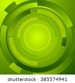 green tech corporate abstract...