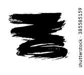 grunge brush stroke . vector... | Shutterstock .eps vector #385585159