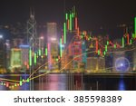 candlestick chart patterns... | Shutterstock . vector #385598389