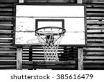 basketball backboard and net | Shutterstock . vector #385616479