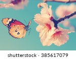 Vintage Spring Image With...
