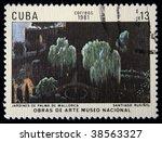 cuba   circa 1981  a stamp... | Shutterstock . vector #38563327