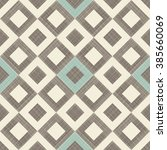 seamless checkered pattern in... | Shutterstock .eps vector #385660069